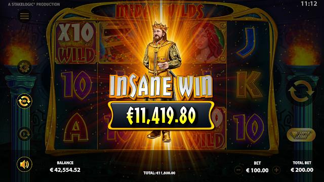 Midas Wilds - Insane Win - Reflex Gaming
