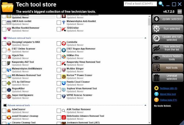 أفضل برامج الكمبيوتر المجانية أكثر من 500 برنامج حاسوب في تطبيق واحد tech tool store tools
