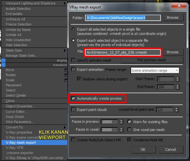 tutorial cara cepat render 3dsmax atau sketchup