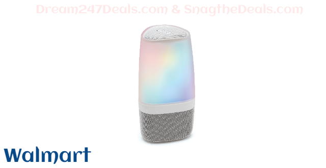 iHome Essential Oil Diffuser w/ Bluetooth Audio, FREE Lavender Essential Oil, Light & Sound Therapy, Aromatherapy