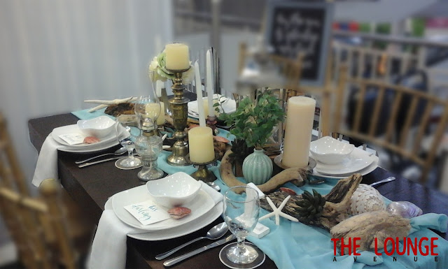 third international travel festival tablescapes