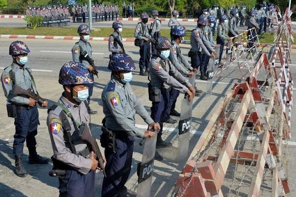 Kadet Biasa-biasa Saja yang Pimpin Kudeta Militer di Myanmar