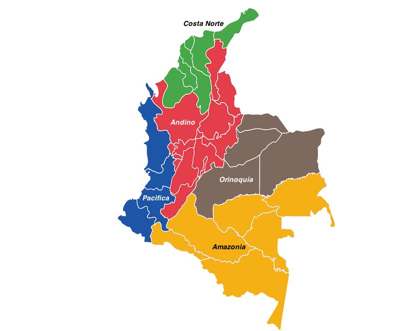 اجمل المناطق في كولومبيا