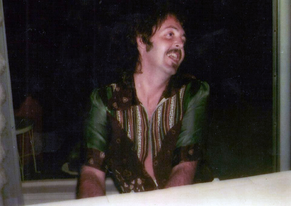 Another Photo Of Paul Hanging Out In Santa Monica 1974