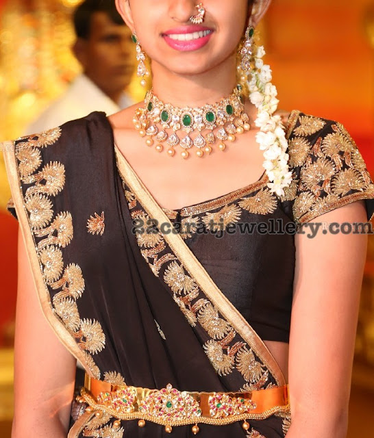 Guests Jewellery at Hasini Boinipally Wedding