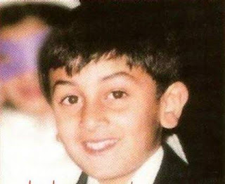 childhood photos of bollywood actor and actress ranbeer kapoor