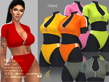 Heat Set for The Sims 4