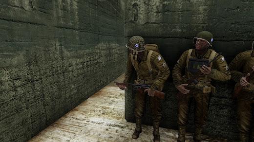 Arma3へWW2米軍のヘルメット用スキンを追加するアドオン