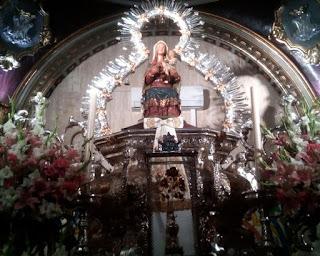 Imagen Peregrina  de la Virgen de la Cabeza