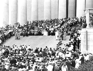 Martin Luther King, I Have A Dream, 1963 March on Washington, Lincoln Memorial DC