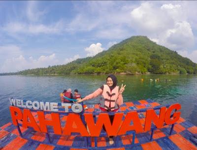 Pulau Pahawang besar
