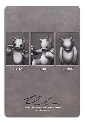 San Diego Comic-Con 2021 Exclusive Realize Resin Figure by Luke Chueh x DKE Toys