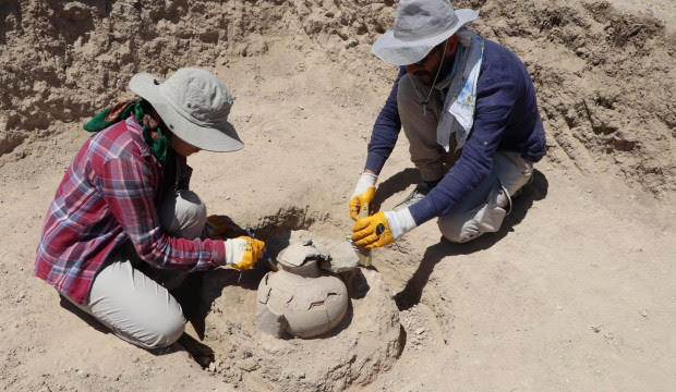 Tumbas de 2750 años encontradas en Van