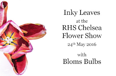 Inky Leaves at Chelsea Flower Show