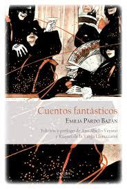 portada de cuentos fantásticos, de emilia pardo bazán