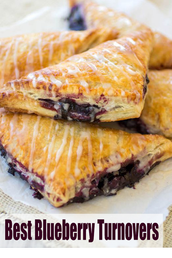 Best Blueberry Turnovers