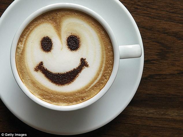 القهوة يمكن أن تجعلك تشعرُ بالسّعادة.