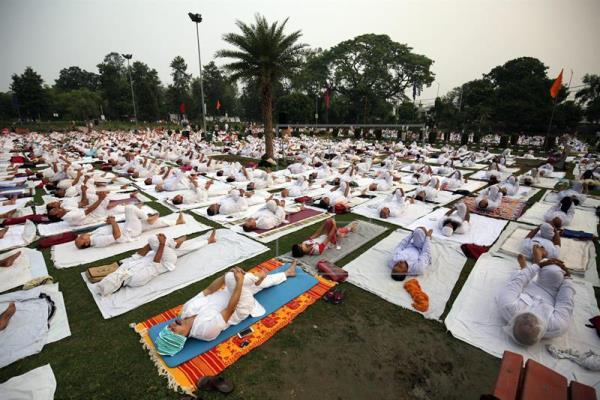 La Unesco declara el yoga de la India Patrimonio Inmaterial de la Humanidad.