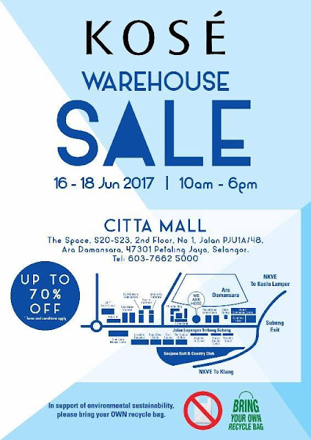 Kose Warehouse Sale