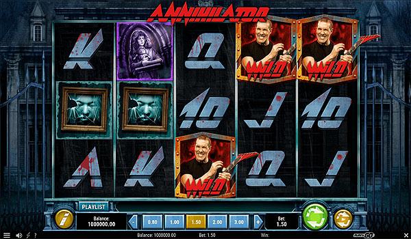 Main Slot Indonesia - Annihilator (Play N Go)