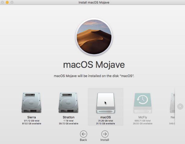 Menginstal macOS di Drive USB