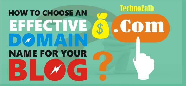 How to choose an effective domain name for your blog