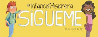 Infancia Misionera, misioneros, OMP