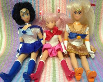 bonecas Sailor Moon anos 90
