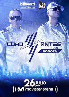"""WISIN & YANDEL """"COMO ANTES TOUR"""" en Colombia"""