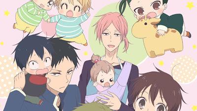 El anime Gakuen Babysitters se estrenará el 7 de enero