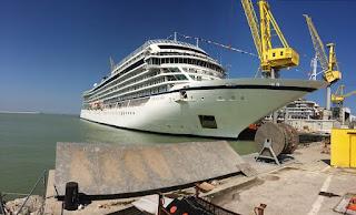 Fincantieri: consegnata ad Ancona Viking Sea