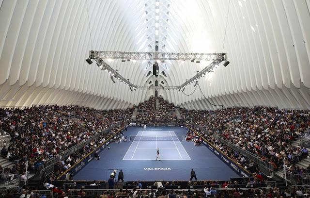Torneio de tênias na Àgora de Valência