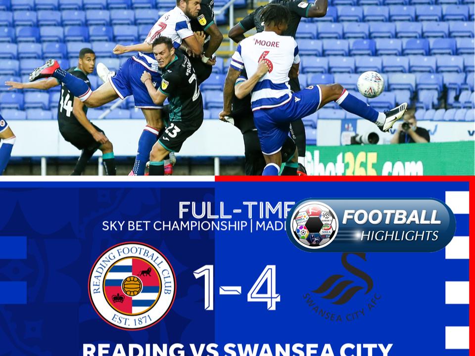 Video Reading 1-4 Swansea City