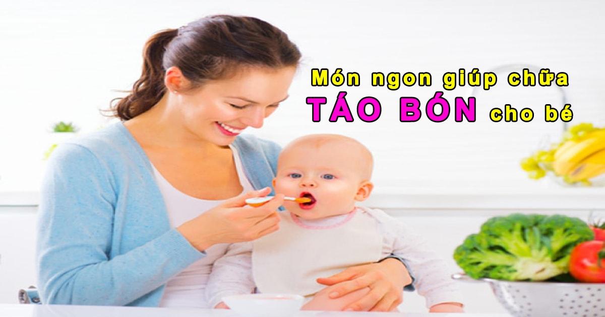 Chữa táo bón cho trẻ em - trẻ sơ sinh bị táo bón phải làm sao