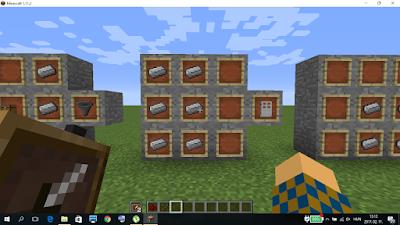 minecraft ajtó craftolás