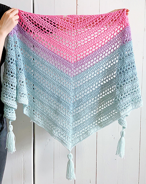 Such Simple Shawl - Free Pattern