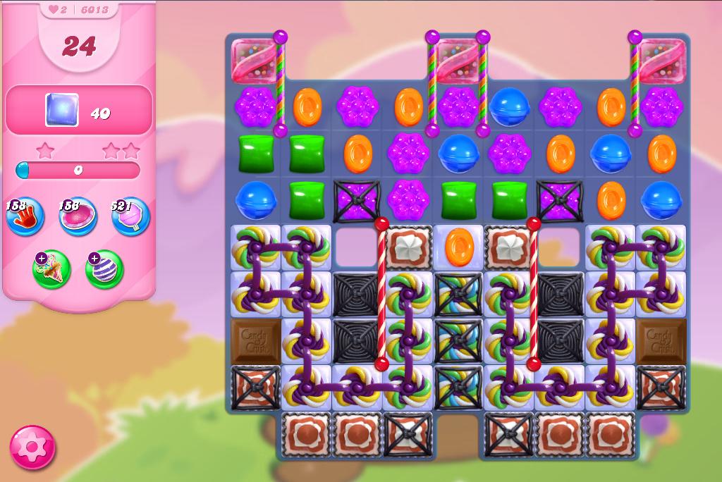 Candy Crush Saga level 6013