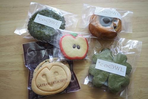 アイコールスタジオの焼菓子