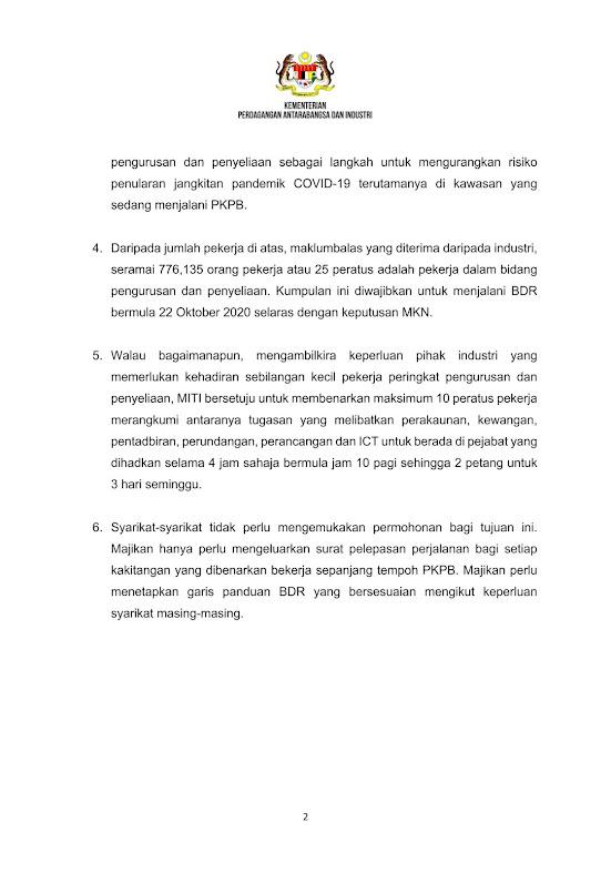 Surat Majikan Kepada Pekerja Pkpb