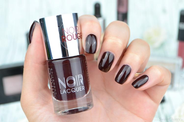 Herbst Favoriten | Dunkle Nagellacke für den Herbst Catrice Noir Rouge