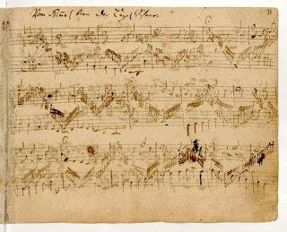 """Bach, """"Vom Himmel kam der Engel Schar"""" (Orgelbüchlein), BWV 607."""