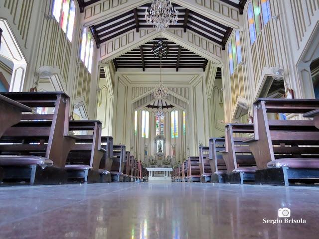 Perspectiva artística do interior da Paróquia São Rafael - Mooca - São Paulo