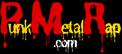 PunkMetalRap.com wordmark logo.
