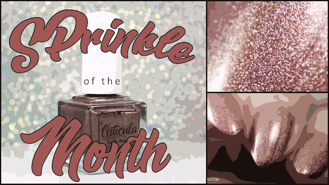Cuticula SPrinkle of the Month October 2019 | Spiced Gingerbread