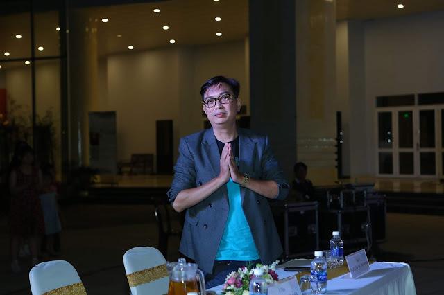 Nhạc sĩ Nguyễn Quang Vinh - Phó chủ tịch thường trực Hội âm nhạc TP. HCM, Hội nhạc sĩ Việt Nam - đại biểu tham dự