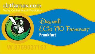 Today match prediction ball by ball ECS T10 Frankfurt SG Hainhausen 1886 vs SV Wiesbaden 1899 100% sure Tips✓Who will win Hainhausen vs Wiesbaden Match astrology