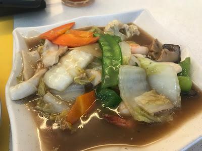 Selera Restaurant, vegetables