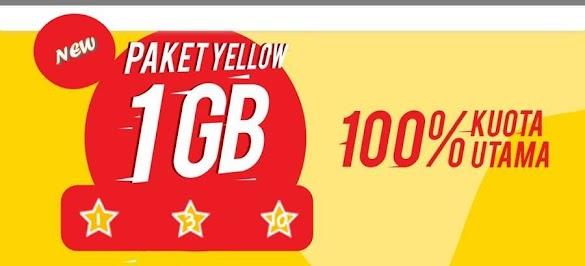 Cara Beli Paket Yellow Indosat, Paket Internet Super Murah