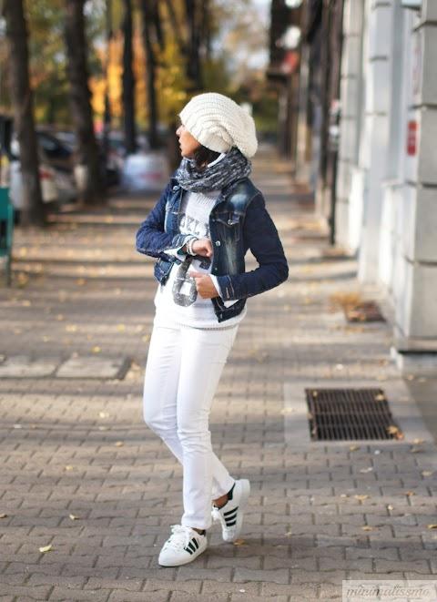 Białe dżinsy - nosić czy nie nosić?