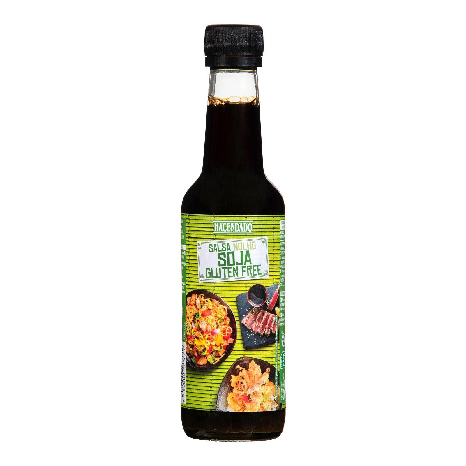 ✓ Productos MERCADONA • Salsa de soja sin gluten Hacendado